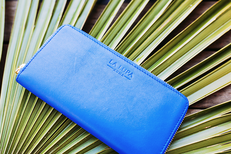 Lalaupa Handbags Wallet Blue